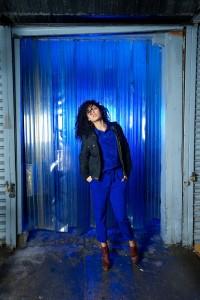 Model Portrait Using Westcott Perfect Pair Kit and Blue Gels #4