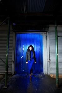 Model Portrait Using Westcott Perfect Pair Kit and Blue Gels #3