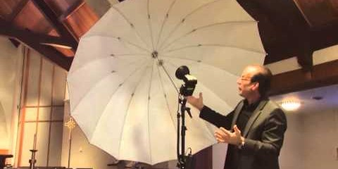 Jim Schmelzer demonstrates lighting for a wedding: Part 1 by .
