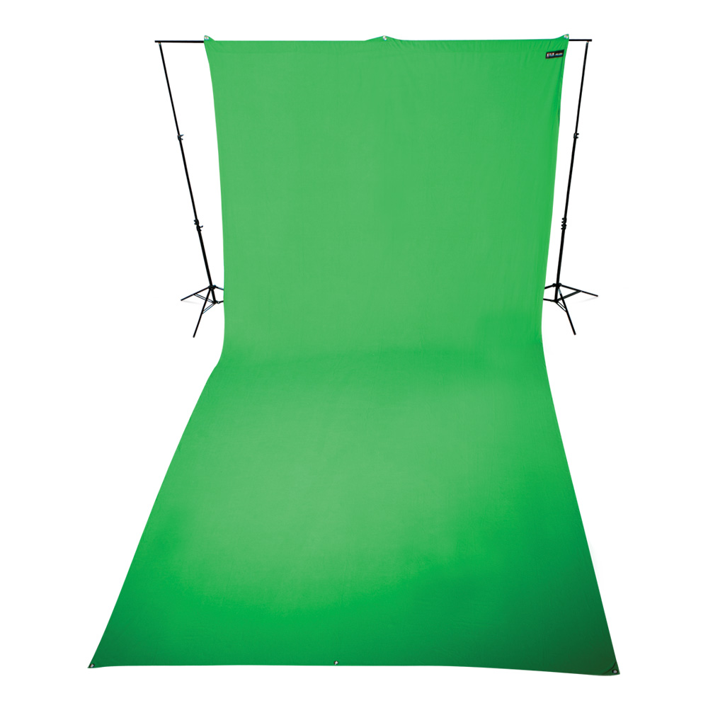 Wrinkle-Resistant Green Screen Backdrop