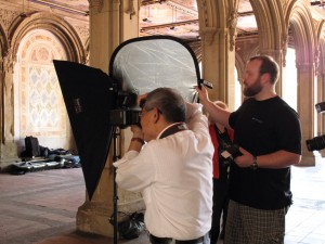 CP7 300x225 B&H, Canon & Westcott host Rick Sammon NYC Event in Central Park