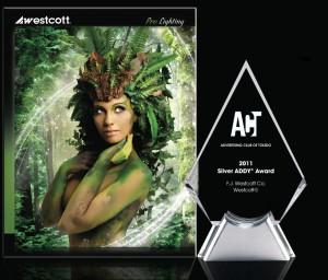 SilverADDY 300x256 Westcott wins Silver Addy Award