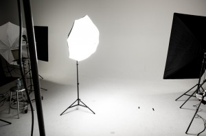 Differences in Photo Umbrella Light Spill