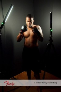 Setup A 200x300 Photographing Athletes on location with the Ice Light