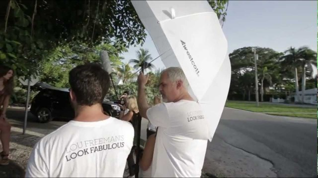 Outdoor Portraits Using Scrim Jim and Parabolic Umbrella