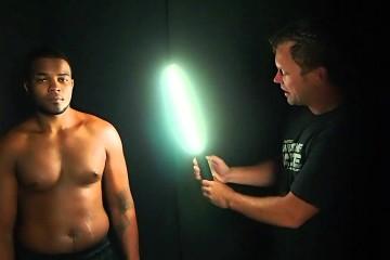 Andrew Funderburg: Ice Light – Location Athlete Lighting