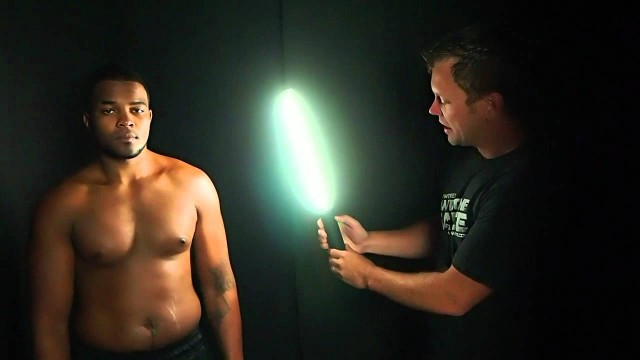 Photographing Athletes on location with the Ice Light