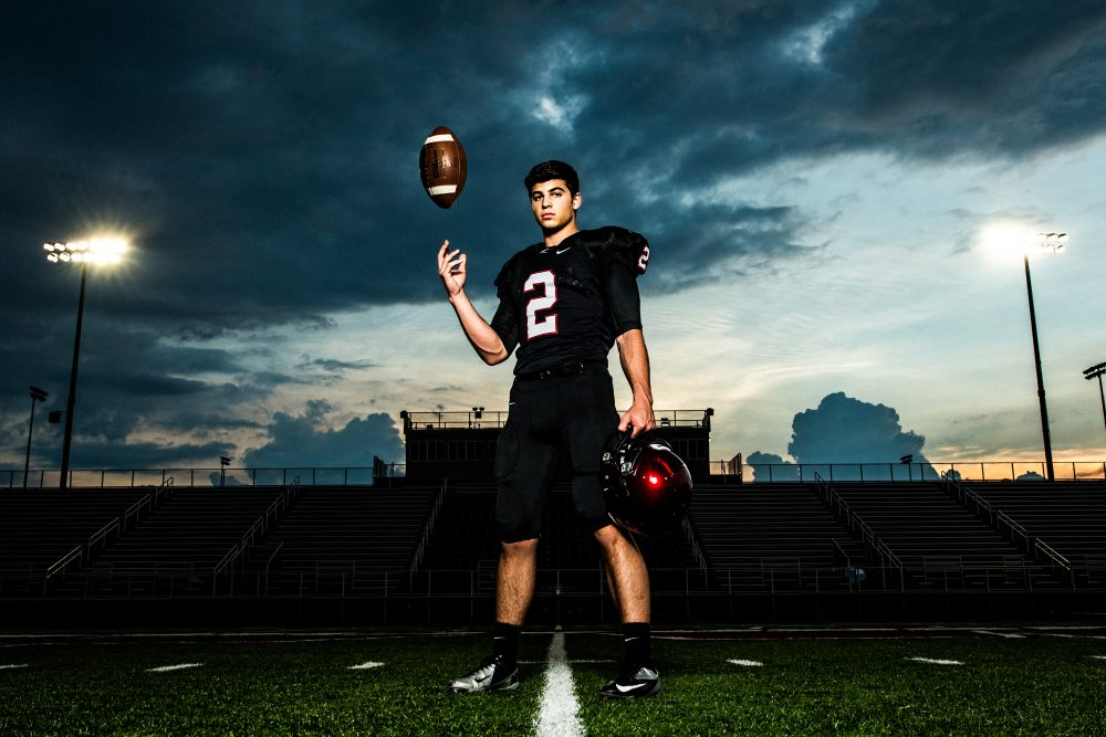 Sports Photography School: Creating Awesome Senior Portraits With Only One Light