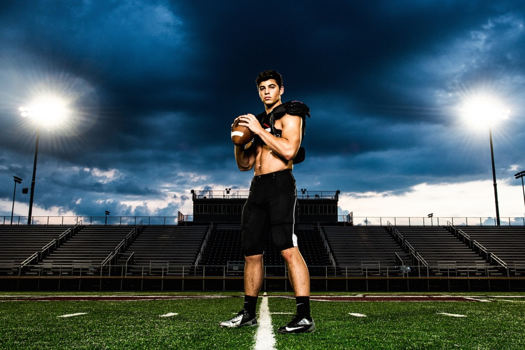 Senior Portrait by Sports Photographer Matt Hernandez