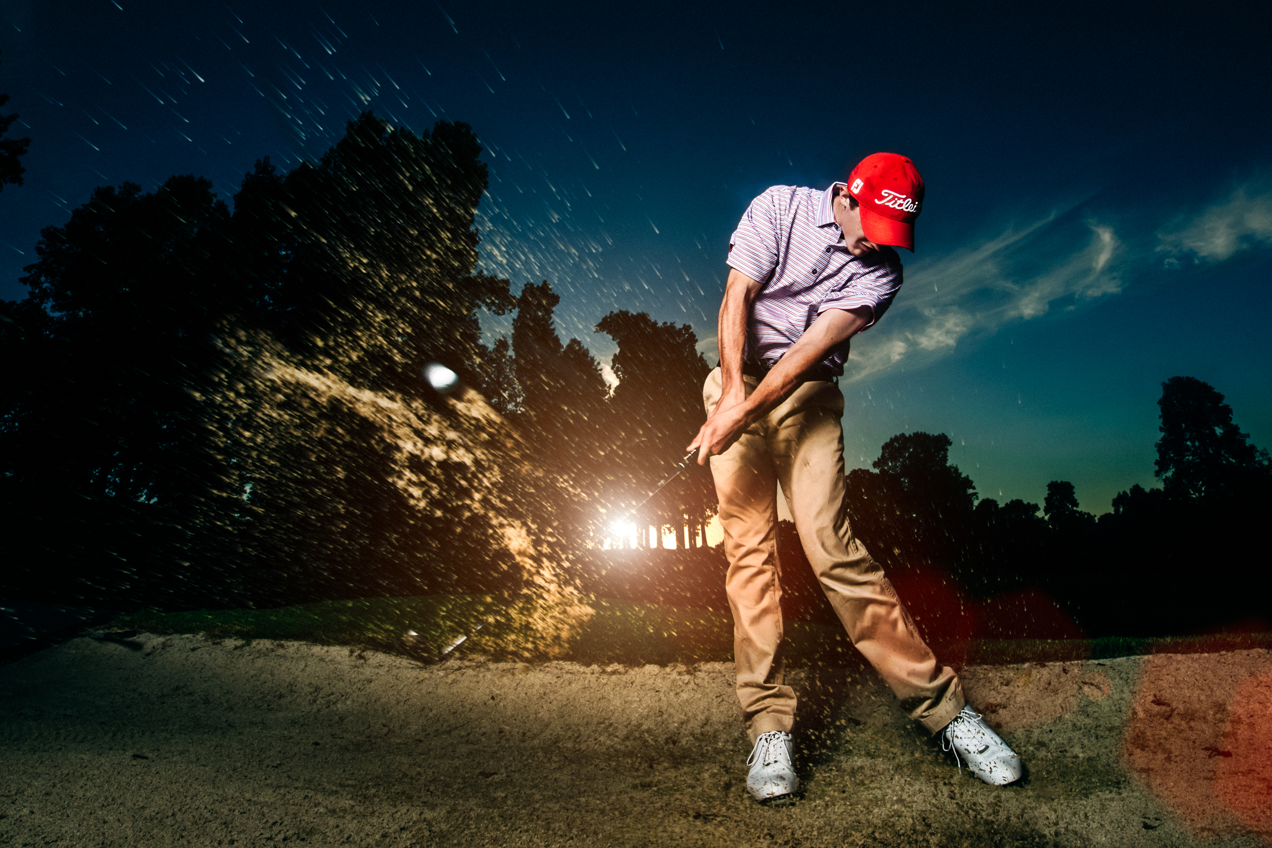 Senior Pictures for Matthew Boyd - McCracken County Mustangs Class of 2016. Casual and golf