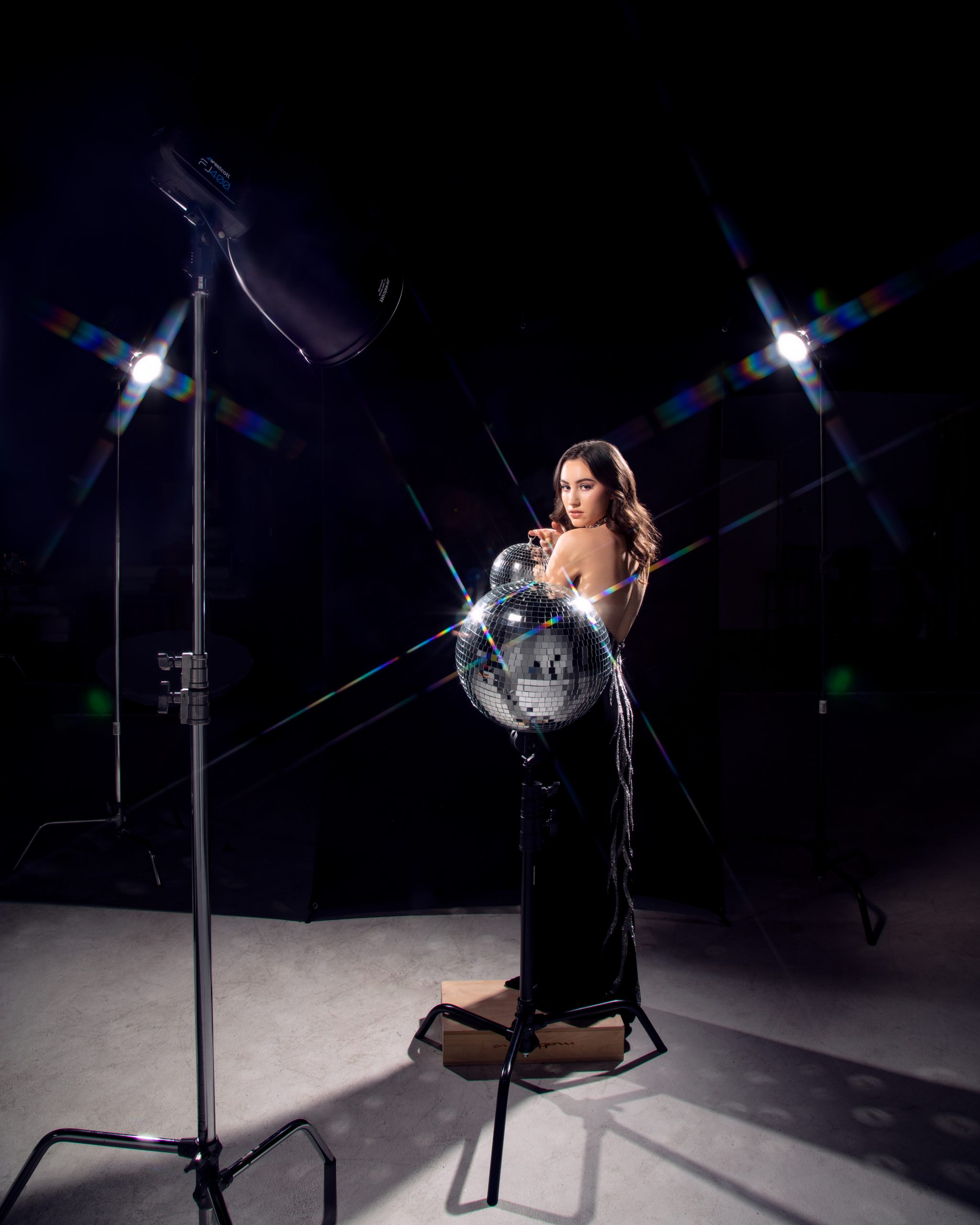 BTS of the FJ400 and Deep Focus Reflector and FJ200's