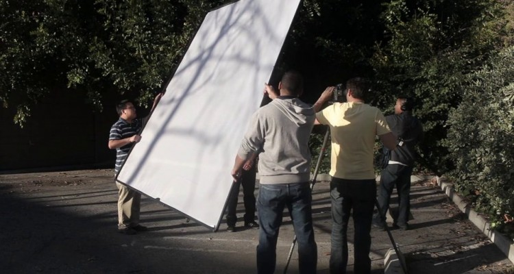 Photography in the Sun with the Scrim Jim
