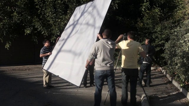 Shooting Outside on a Sunny Day