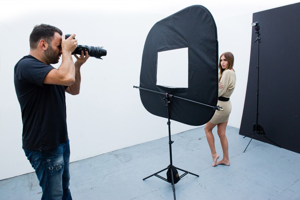 BTS with Jerry Ghionis and the Omega Reflector
