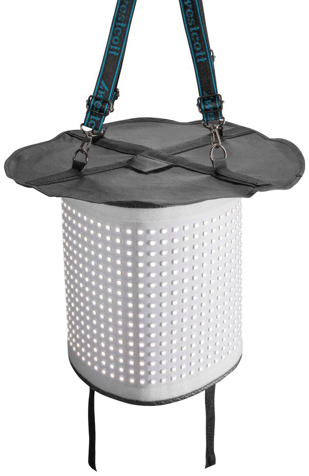 Flex Attached to Drum Softbox