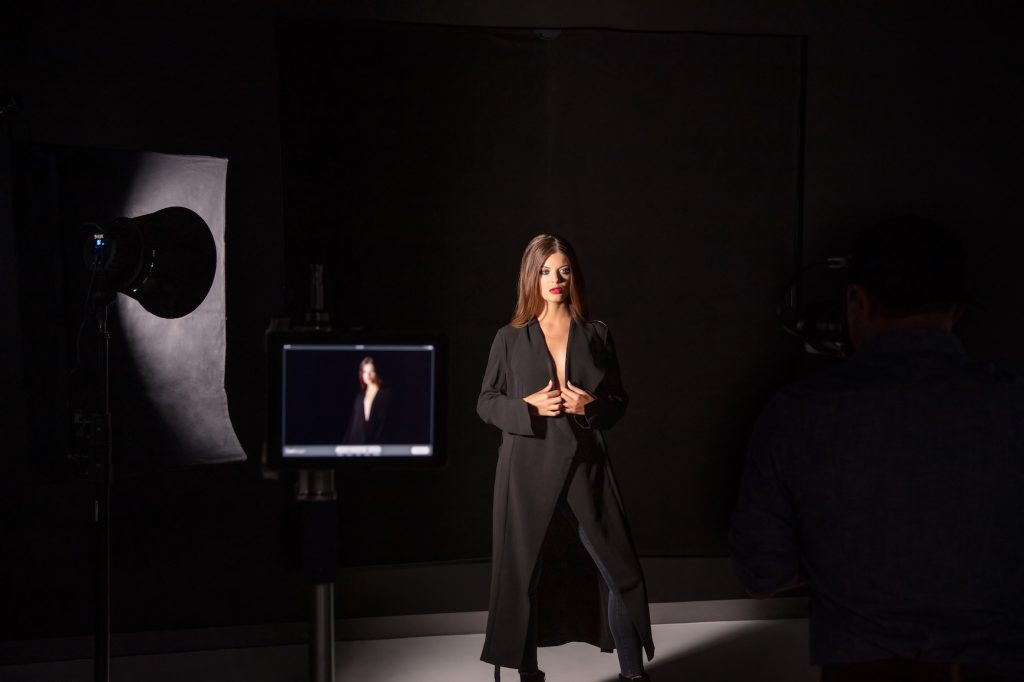 One Light Portrait - Behind the Scenes