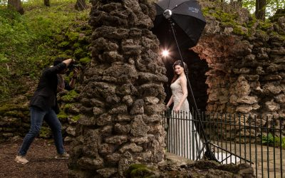 Behind the Scenes of Bridal Portraits