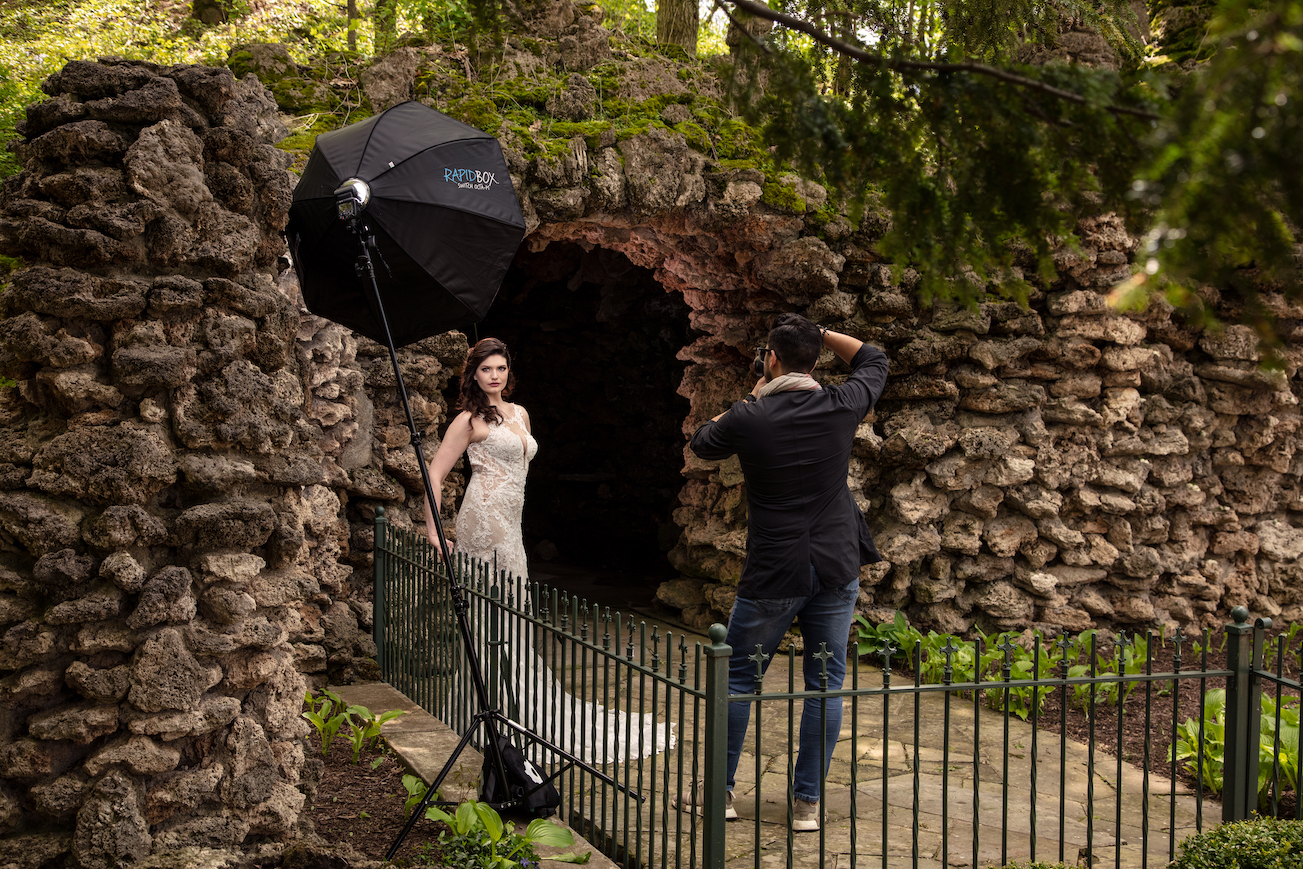Behind the Scenes of Bridal Portraits 2