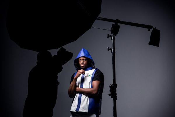 Photographing Athletes - Lighting Setup 1