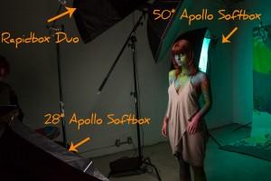 Rapid Box Duo setup by JVL