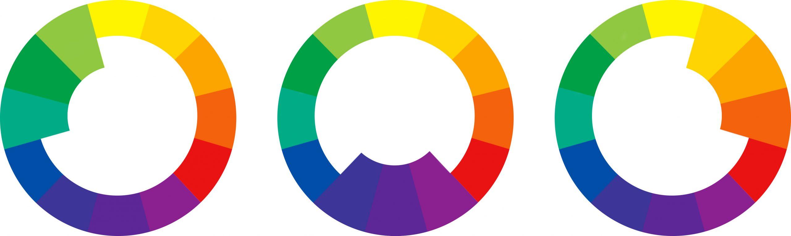 Analogous Tones Color Chart