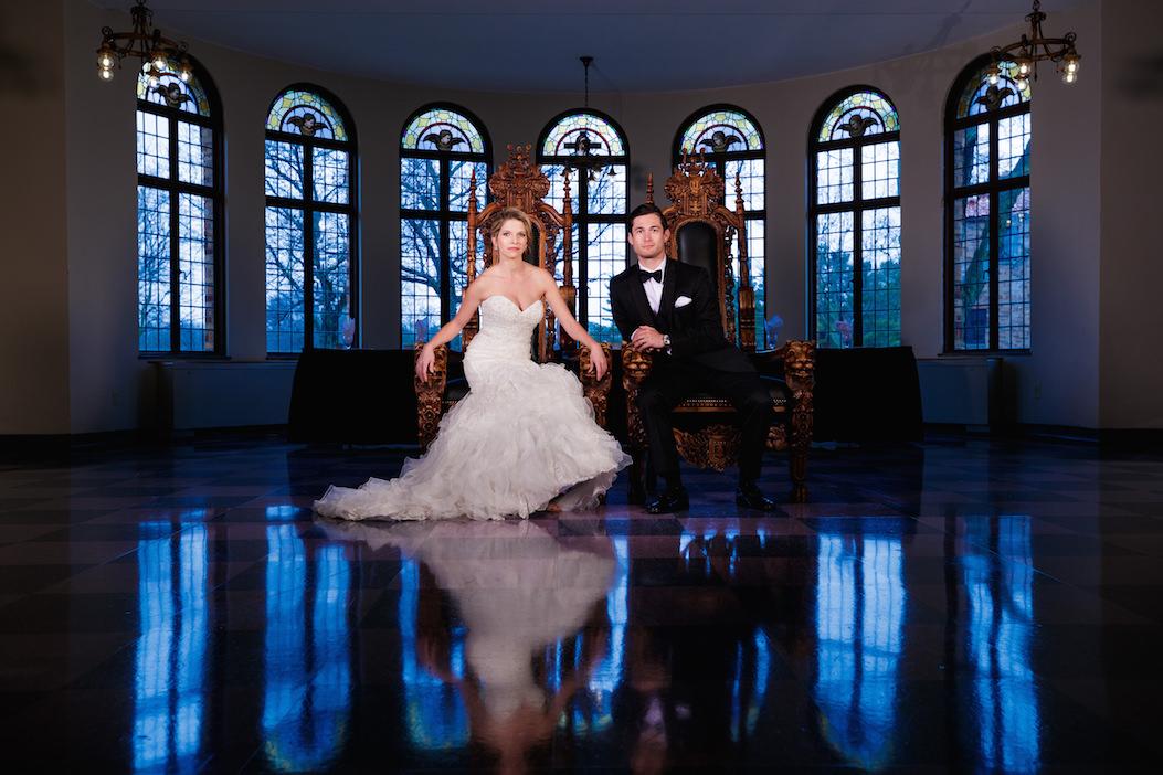 Modern Wedding Portraits by Bob Davis (1)
