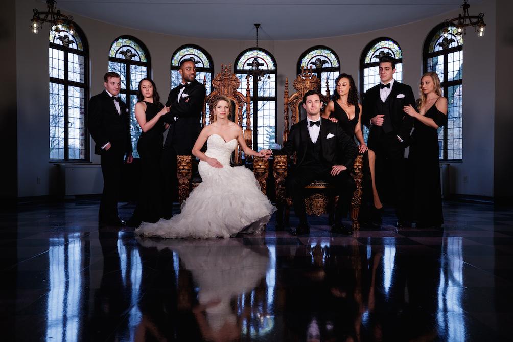 Modern Wedding Portraits by Bob Davis (4)
