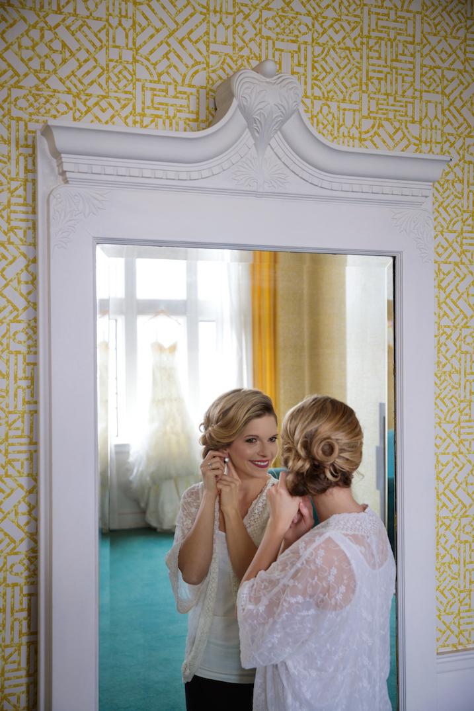 Bridal Prep Shot (Before)