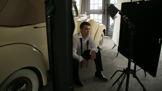 On Location with the Ice Light and Jim Schmelzer