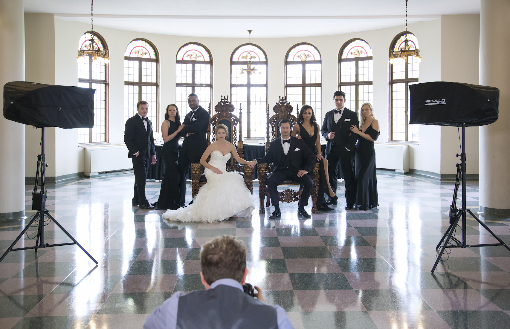 Behind the Scenes of Modern Wedding Portraits
