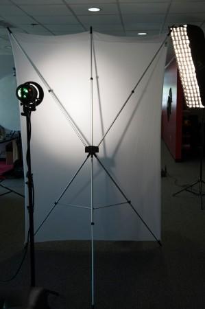 Detail Shot of Lighting Through X-Drop System