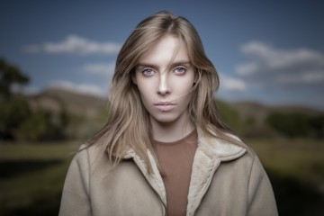 Portrait with Shallow Depth of Field by Joel Grimes