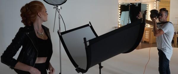 White Eyelighter Portrait Behind the Scenes 2