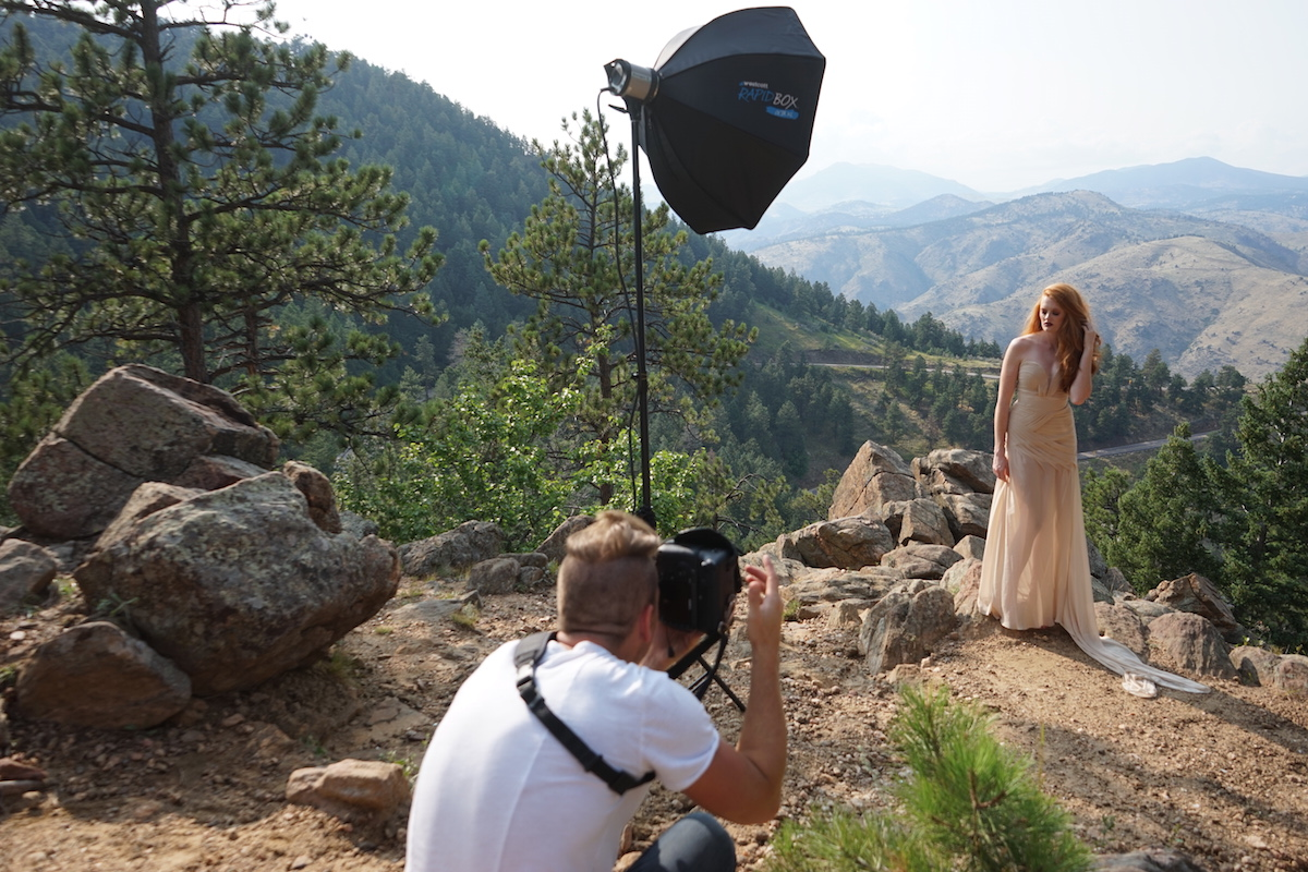 Behind The Scenes Outdoor Fashion Photography With Flash