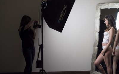 Boudoir Photography Behind the Scenes