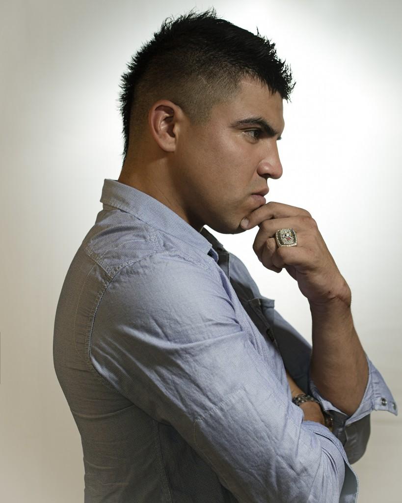 Victor Ortiz Portrait 1