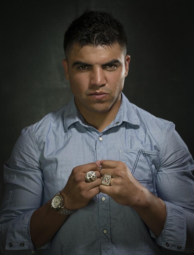 Victor Ortiz Portrait 2