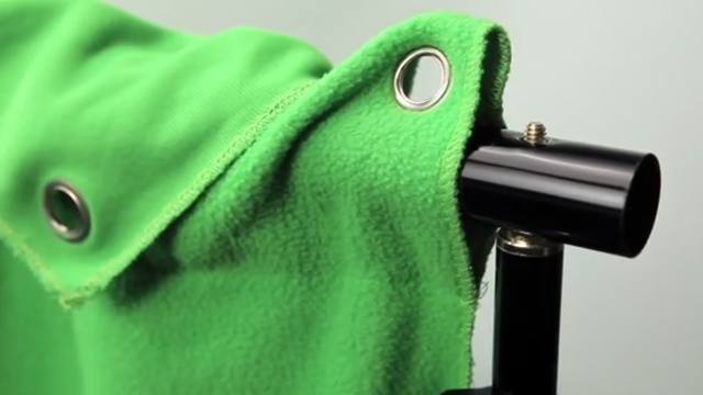 Westcott's Wrinkle-Resistant Green Screen Backdrop