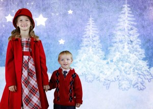 Holiday Photos with Green Screen 5 300x214 Holiday Photos with Green Screen Lighting Kit