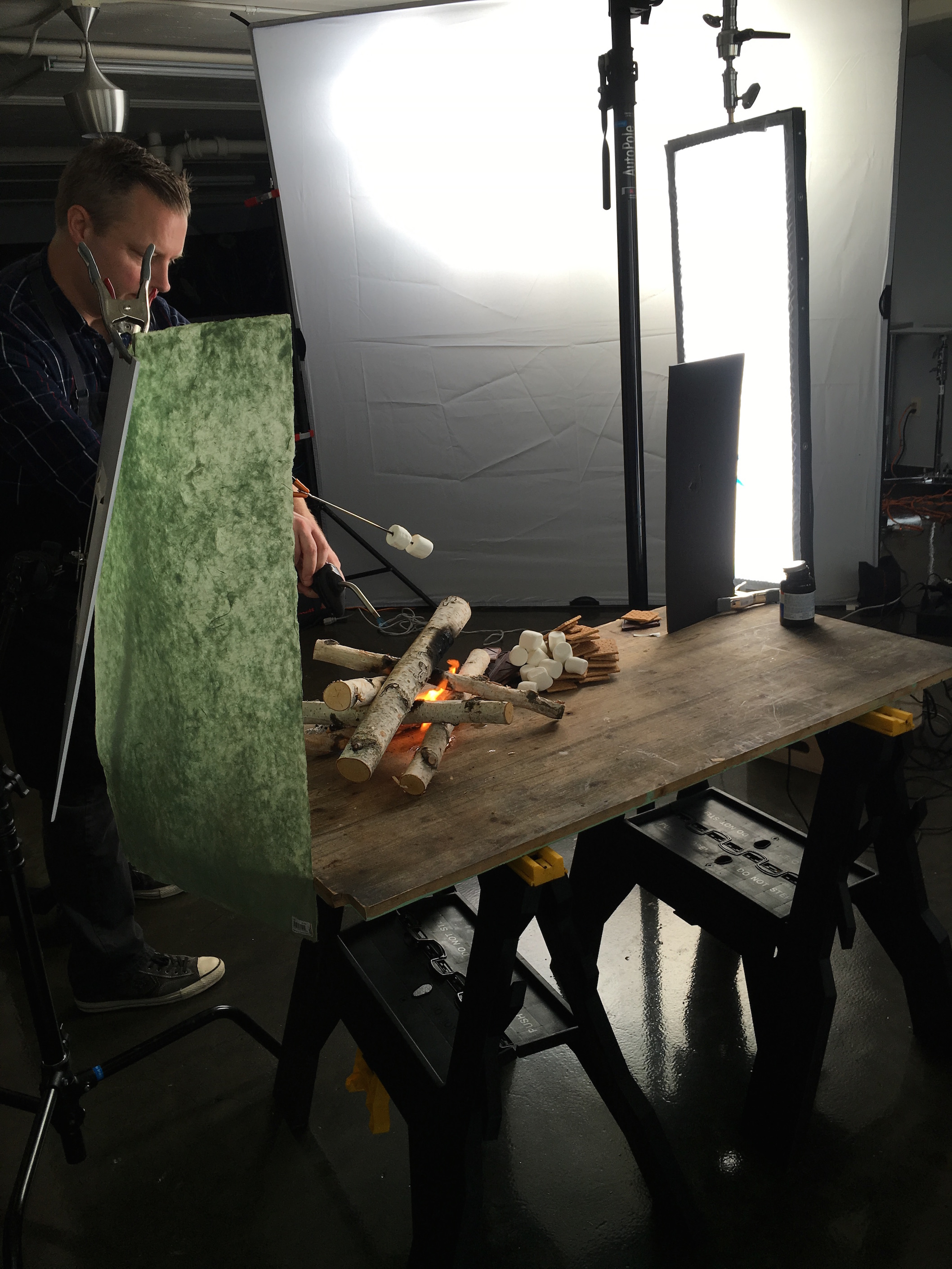 Behind-the-Scenes Food Photography