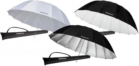 Image 15 450x216 Purchase 3 Westcott 7 Parabolic Umbrellas for one low price