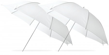 Image 17 450x227 Westcott offers 2 umbrellas at one low price.
