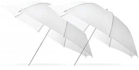 "Westcott 2-pack 43"" White Umbrella"