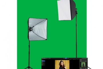 Illusions Green Screen Lighting Kit