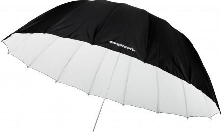 Westcott 7' White/Black Parabolic Umbrella