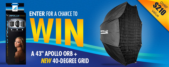 June 2012 Giveaway Apollo Orb with Grid