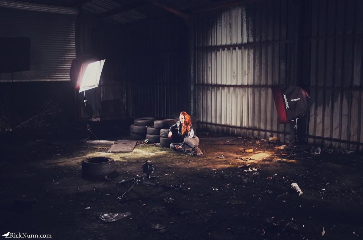 Rick Nun - Warehouse Portrait Behind the Scenes