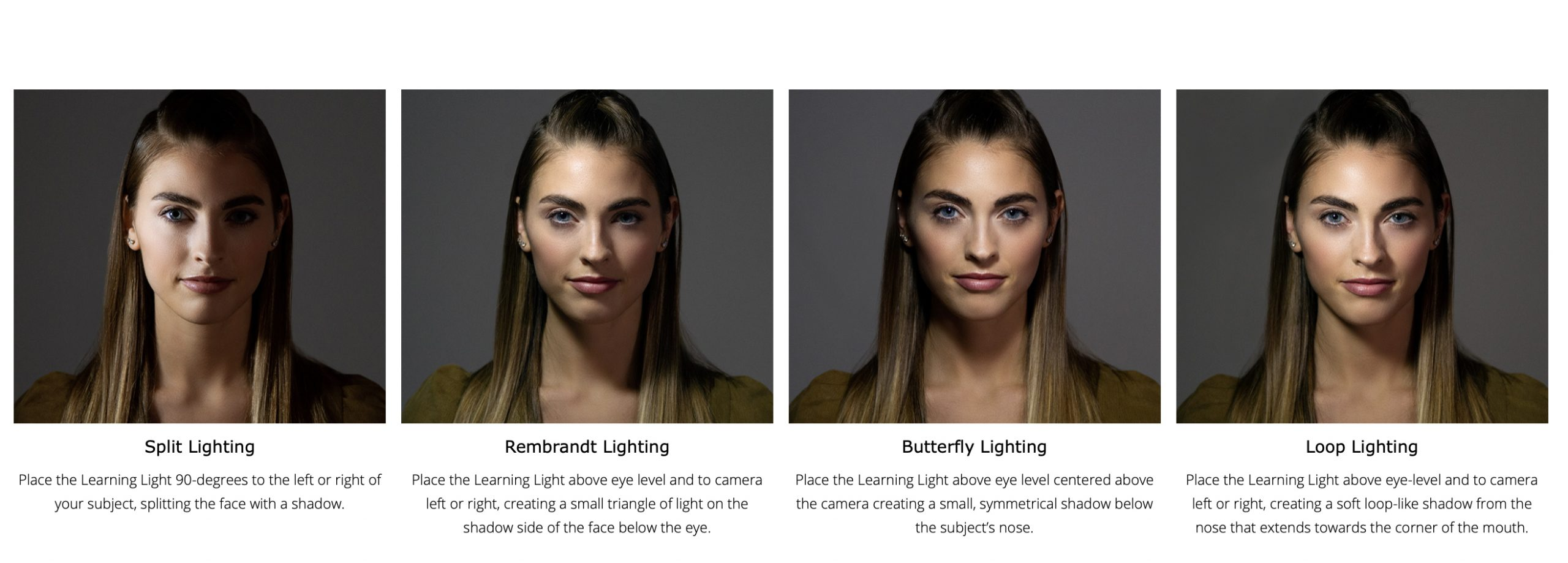 Light patterns on your subject
