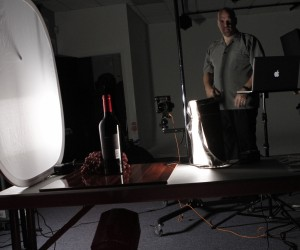 Behind the Scenes Product Photography