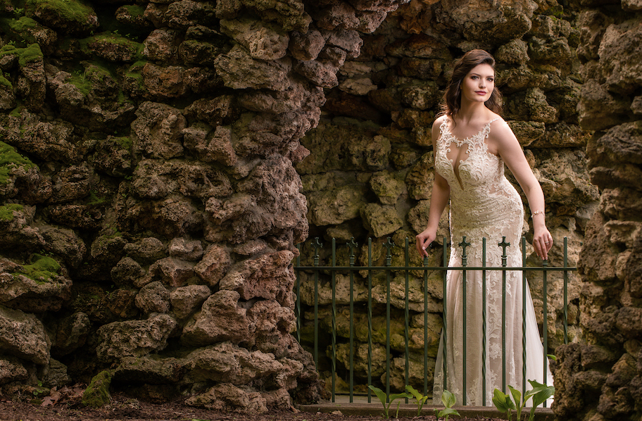 1 Speedlite Bridal Portraits